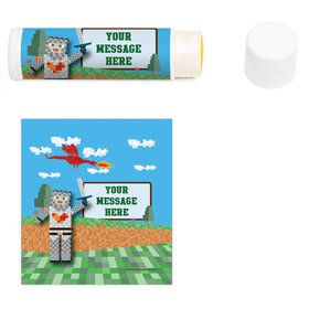 Medieval Pixels Personalized Lip Balm (12 Pack)
