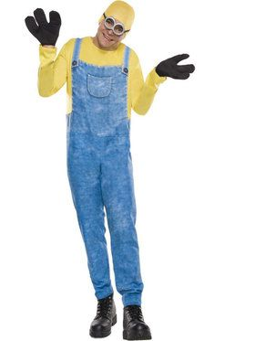 Men's Minion Bob Costume