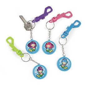 Mermaid Backpack Key Chain (12)
