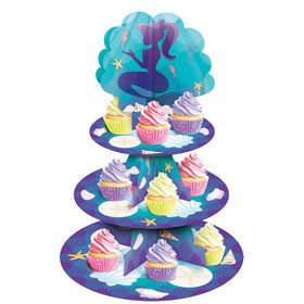 Mermaid Cupcake Stand (1)
