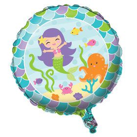 "Mermaid Friends 18"" Foil Balloon"
