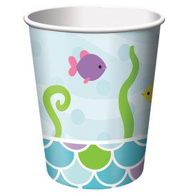 Mermaid Friends 9 oz Cups (8 Count)