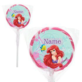 "Mermaid Personalized 2"" Lollipops (20 Pack)"