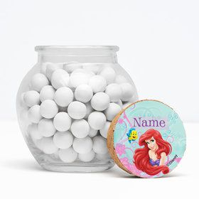 "Mermaid Personalized 3"" Glass Sphere Jars (Set of 12)"