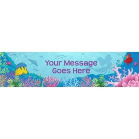 Mermaid Personalized Banner (Each)