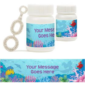 Mermaid Personalized Bubbles (18 Pack)