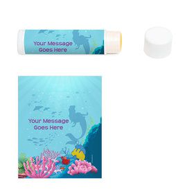 Mermaid Personalized Lip Balm (12 Pack)