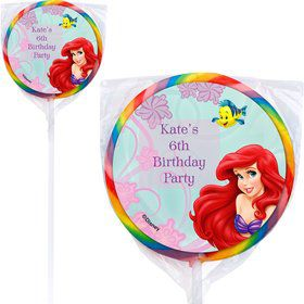 Mermaid Personalized Lollipops (12 Pack)
