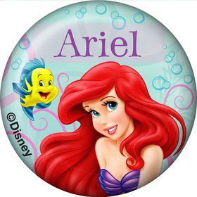 Mermaid Personalized Mini Button (Each)