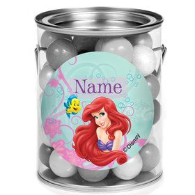 Mermaid Personalized Mini Paint Cans (12 Count)