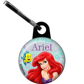 Mermaid Personalized Mini Zipper Pull (Each)