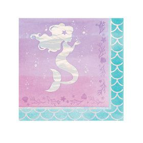 Mermaid Shine Lunch Napkins (16)