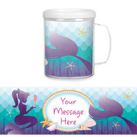 Mermaid Under the Sea Personalized Favor Mug (Each)