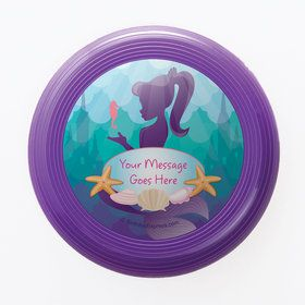 Mermaid Under the Sea Personalized Mini Discs (Set of 12)