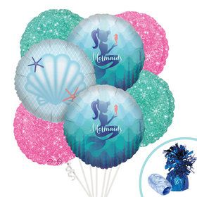 Mermaid Friends Balloon Bouquet Kit