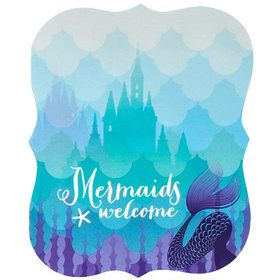 Mermaids Under the Sea Invitations (8)