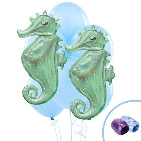 Mermaids Under the Sea Jumbo Balloon Bouquet