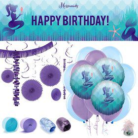 Mermaids Under the Sea Room Decoration Kit