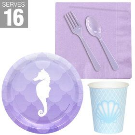 Mermaids Under the Sea Snack Pack for 16