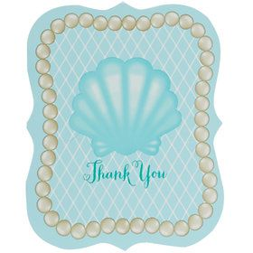 Mermaid Thank You Notes
