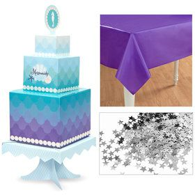 Mermaids Under the Table Decor Kit