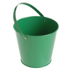 Metal Bucket - Green (6)