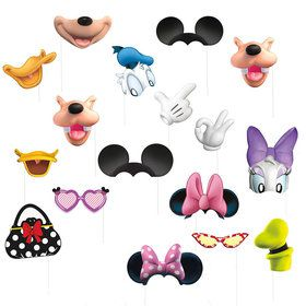 Mickey and Minnie Photo Prop Kit
