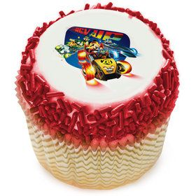 Mickey And The Roadster Racers Edible Cupcake Topper (12 Images)