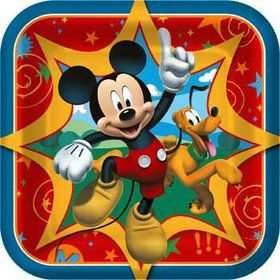 Mickey Cake Plates (8-pack)