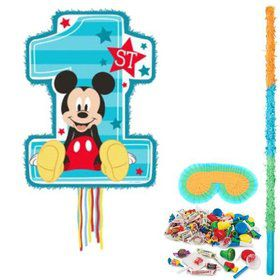 Mickey Mouse 1st Birthday Pinata Kit
