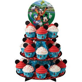 Mickey Mouse Cupcake and Treat Stand (Each)
