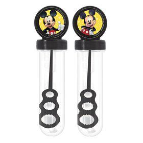 Mickey Mouse Forever Bubble Tube Favors (4)
