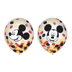 Mickey Mouse Forever Confetti Balloons (6)