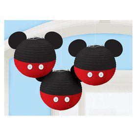 Mickey Mouse Forever Hanging Paper Lanterns (3)