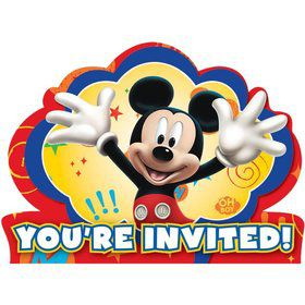 Mickey Mouse Invitations (8 Pack)