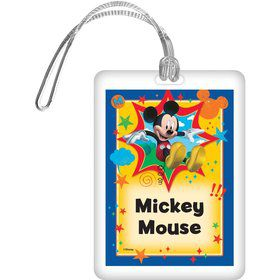 Mickey Mouse Personalized Bag Tag (Each)