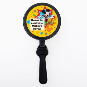 Mickey Mouse Personalized Clappers (Set Of 12)