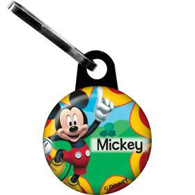 Mickey Mouse Personalized Mini Zipper Pull (Each)