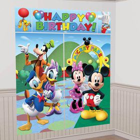 Mickey Mouse Wall Decorating Kit (Each)