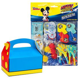Mickey On The Go Filled Favor Box Kit (For 8 Guests)
