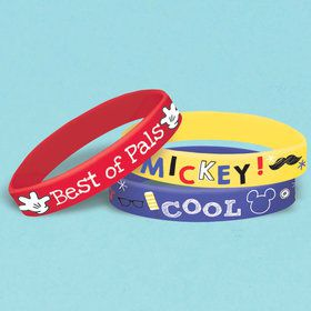 Mickey On The Go Rubber Bracelets (6)