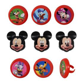 Mickey & the Roadster Racers Cupcake Rings (12)
