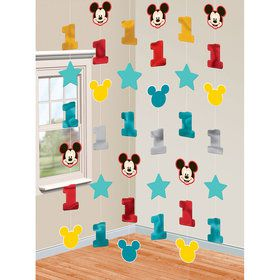 Mickey's Fun To Be One Hanging String Decorations
