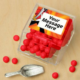 Mighty Heroes Personalized Candy Bin with Candy Scoop (10 Count)