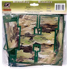 Military Camo Happy Birthday Banner (1)