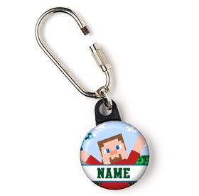 "Mind Craft Personalized 1"" Carabiner (Each)"