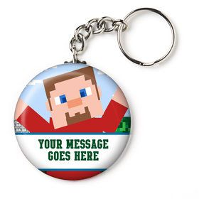 "Mind Craft Personalized 2.25"" Key Chain (Each)"