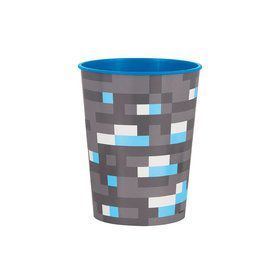 Minecraft 16oz Plastic Favor Cup (1)