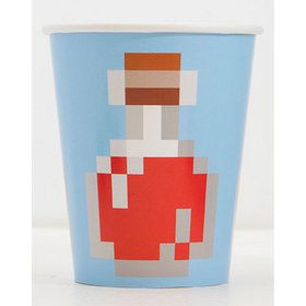 Minecraft 9oz Paper Cups (8)