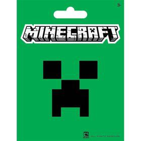 "Minecraft Green 5"" Sticker (Each)"
